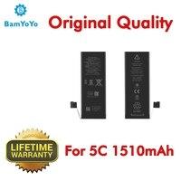 5pcs--(Original Quality)--New 1510mAh 3.8V li-ion Battery 0 Cycle Internal For iPhone 5C Battery Brand New