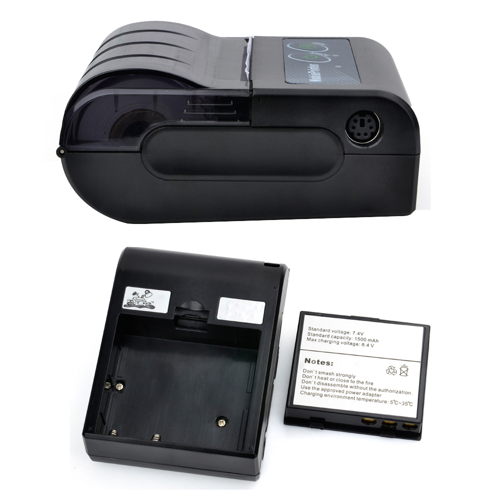 Mini Bluetooth Printer Thermal Printer Pocket portable ticket receipt USB Wireless Windows Android IOS mini 58mm 2019