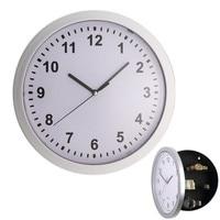 Modern Design Digital Clock Safe Storage Box Clock Plastic Jewelry Money Hidden Secret Stash Safe Box
