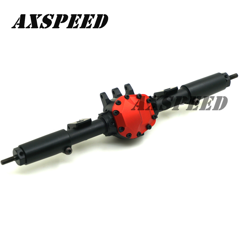 2Pcs/Set Alloy Front And Rear Axle For RC Cars Axial SCX10 II 90046 90047 JEEP Rock Crawler Parts Upgraded