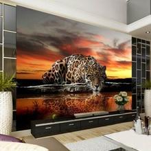 Leopard 3d Wall Mural