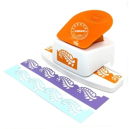 free shipping leaf shape border punch foam paper embossing punch scrapbook Edge craft punch scrapbook punches for paper cut