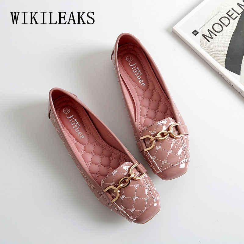 2fc088e6d new Chain slip on shoes for women loafers designer shoes women luxury 2018  tenis feminino casual