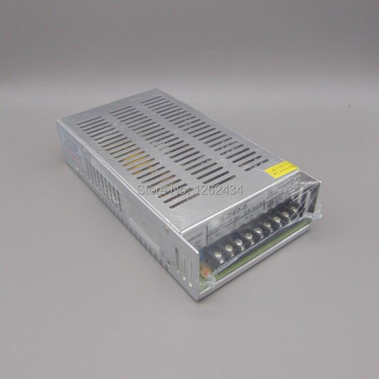 S-240-5 5v 40A 240W 5V switching power supply monitoring power transformer s 240 12 12v20a 240w 12v switching power supply monitoring power transformer
