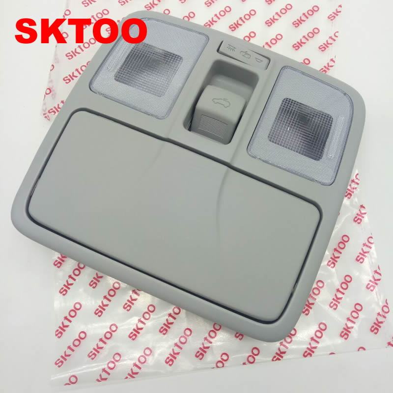 SKTOO For Hyundai IX35 Dome light / reading lamp / sunroof switch / car glasses case starpad for high quality general purpose for chery former interior dome light without the sunroof control switch wholesale