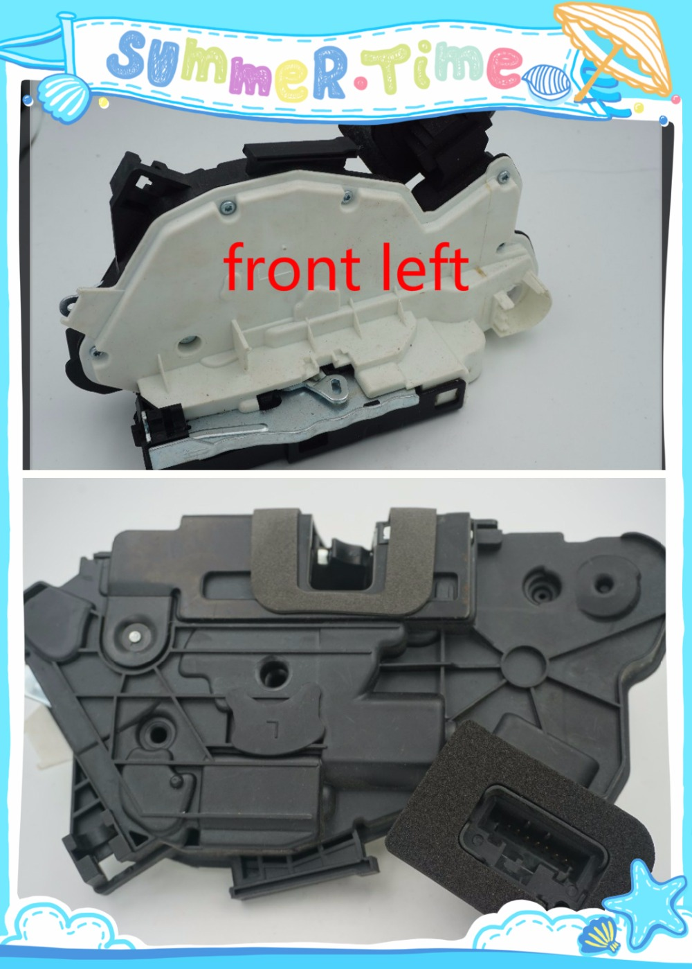 for VW Golf MK6 MK7 Passat B7 Polo Skoda Yeti Door Lock Latch Actuator Driver Side Front Left 5K1 837 015 C/6RD 837 015 A