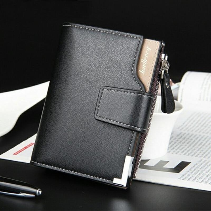 em dinheiro clips Wallet Shape : Vertical, Zipper And Hasp