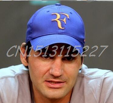 2015 tennis Roger Federer RF cap baseball cap summer hat new arrived free  shipping f9313d87082