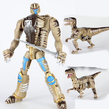 lensple transformation ko mp41 beast wars grimlock dinobot robots collection action figure transformation Beast Wars 16CM Dinobot figure model Birthday gifts for children and collectible toys doll