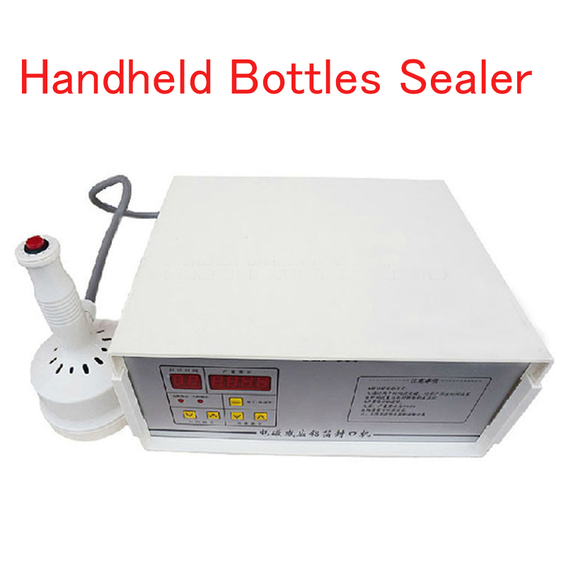 Handheld Bottles Sealer Aluminum Foil Sealing Machine Elecomagnetic Induction Fast Work Continuous Induction Sealer GLF500 free shipping hot sale continuous induction sealer aluminum foil sealing machine