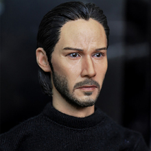 цена на 1/6 Scale head sculpt keanu reeves john wake figures accessories KUMIK15-5 toy model for 12 inch Men action doll collection mode