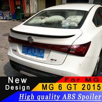 For MG 6 GT 2015 high quality ABS material spoiler MG 6 rear spoiler Primer or any color