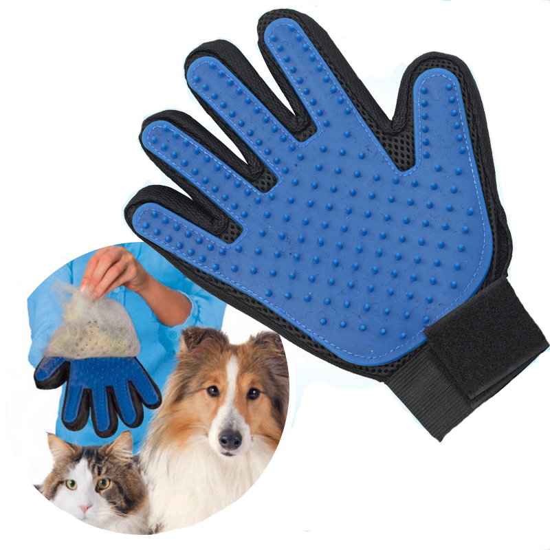 1 Piece Pet Grooming Glove For Cats Brush Comb Cat Hackle Pet Deshedding Brush Glove For Animal Dog Pet Hair Glove For Cat Dog