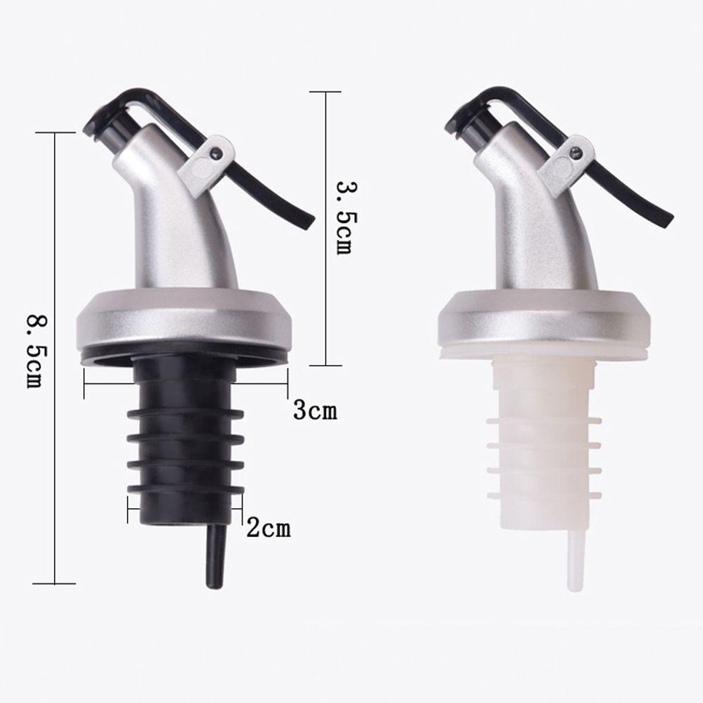 2pcs Plastic Bottle Stopper For Wine Oil Reusable Sealed Sprayer Kitchen Supplie