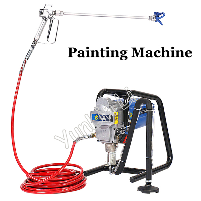 Electric High Pressure Airless Paint Sprayer Plunger Type Painting Machine for Decorating Q5000