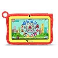 Yuntab 7 дюймов q88r iwawa Детские планшеты PC HD 1024*600 Дисплей, родительский Управление Программы для компьютера для обучения с шикарным Стенд чехол
