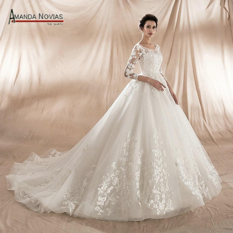 New Model 2018 Ball Gown Wedding Dress Factory