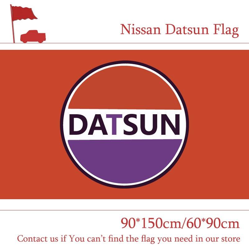 Free shipping 90*150cm 60*90cm Nissan Datsun Flag ,nissan Car Banner Polyster