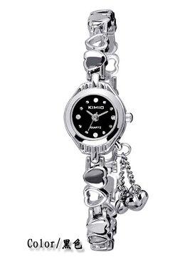 dc97285dfdd KIMIO Simples Pequeno Dial Decoração Amor Bracelet Ladies Famosa Marca  Mulheres Relógios De Luxo Mulheres relógio
