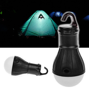 Image 5 - 1Pcs Mini Outdoor Night Light Camping Tent LED Bulb Waterproof Hanging Hook Emergency Lamp for Camping or Fishing Lamp Use 3*AAA
