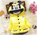 BibiCola children outerwear baby girls cotton Hooded coats Winter Jacket Kids Coat  winter clothing Girls Down & Parkas