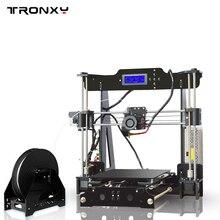 Новый Высокоточный 3D-принтеры Наборы tronxy I3 экструзии 3D-принтеры DIY Kit 3D печати 1 рулонов нити 8 ГБ SD карты ЖК-дисплей как подарок