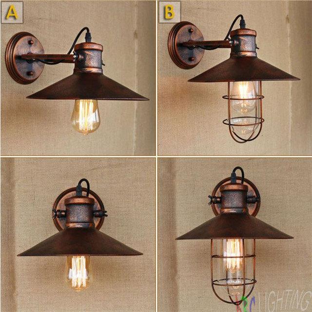 Old Warehouse Light Fixtures: Aliexpress.com : Buy Retro Loft Vintage Industrial Rust