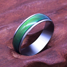 Classic Temperature Change Color Mood ring Hot sale jewelry 6mm Wide Smart Discolor rings(China)