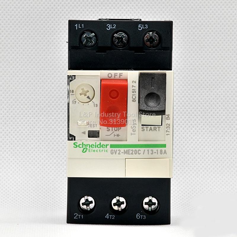 GV2-ME20C  Schneider  Motor Starter 13-18A  Circuit Breakers