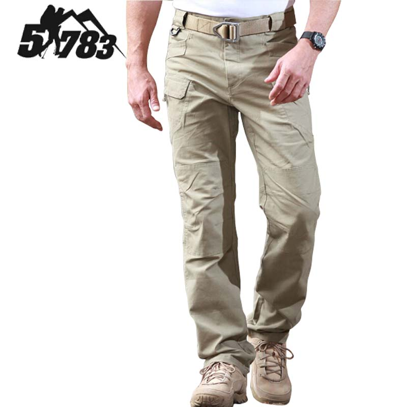 51783 Brand IX7 Military Outdoors Camping Hiking Pants City Tactical Slim Fit Men Spring Sport Cargo Army Training Combat Pant In From Sports