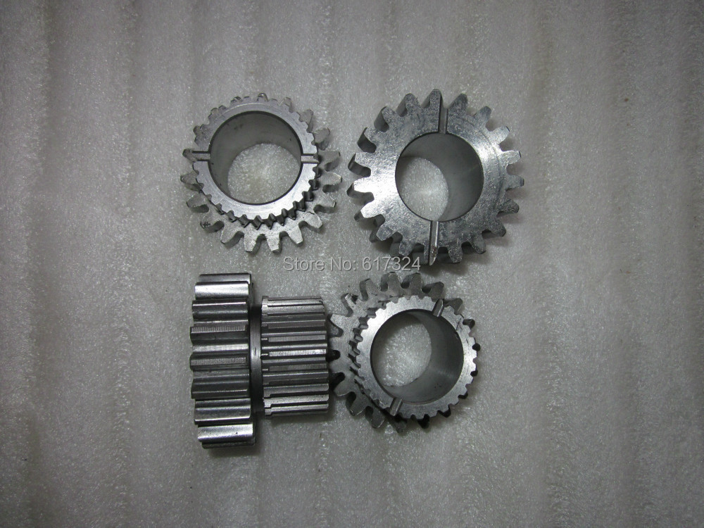 Foton tractor TE254,transfer case driven gear (new model), part number: TE254.421B.1-01a driven to distraction