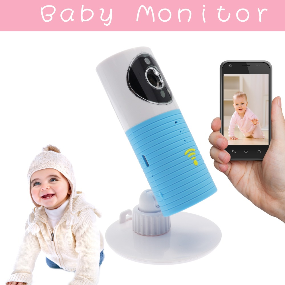 Wifi Baby Monitor IR Night Vision Babysitter Baby Monitors Electronic Infant Intercom PIR Motion Detection Security Baby Camera