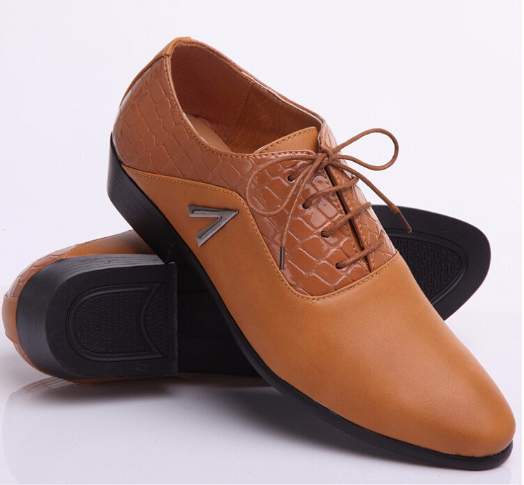 2015 New Arrival groom shoes yellow Men s dress shoes new wedding ... 26048439c964