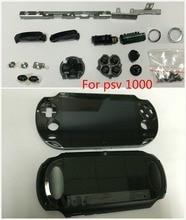 Psvita 1000 psv 100x lcd ディスプレイアセンブリ + バックカバーの前面プレート wifi + lr 選択ボタンネジセット/ステッカー