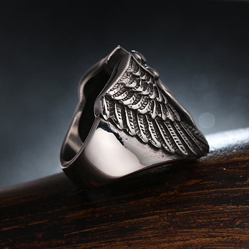 M17~M32 Fashion wing beautiful good ring round shape with zircon for girl very nice good looking jewelry for women