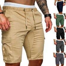 Hot Mens Summer Shorts Casual Solid Pocket Gym Sport Running