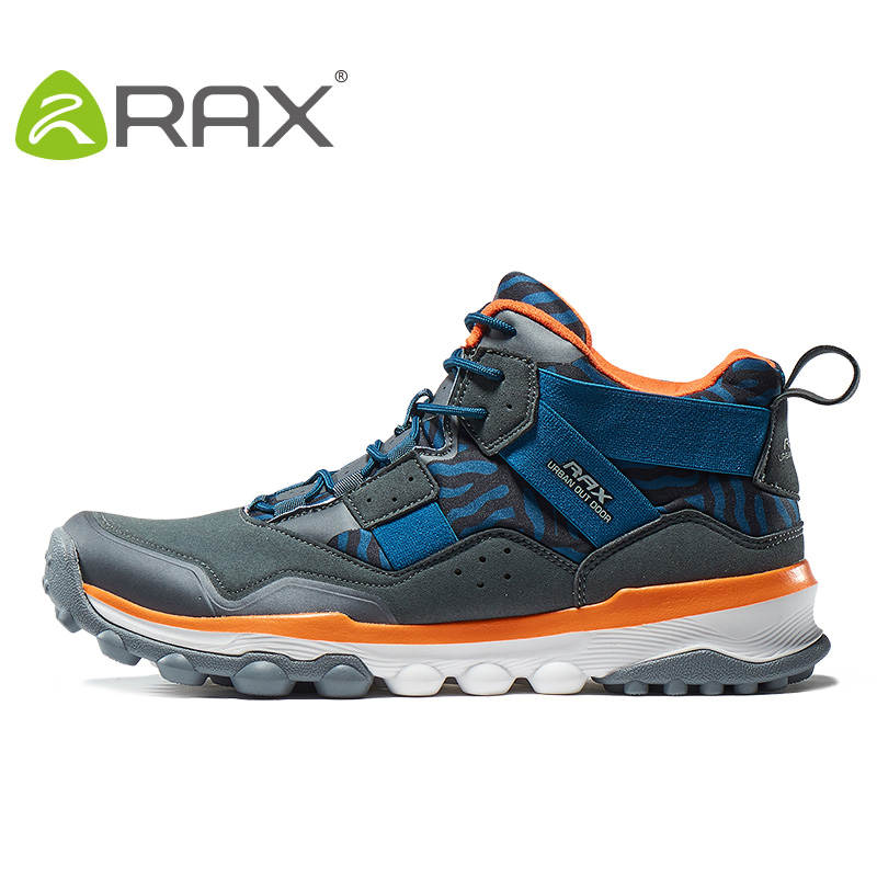 ФОТО RAX Women's Hiking Shoes Waterproof Hiking Boots For Men Women sneakers Outdoor Walking sport Shoes Women Winter Boots 63-5B367