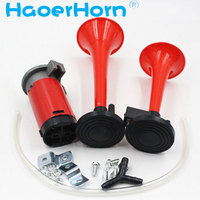 GZHAOER 150DB 12Vmotorcycle Horn Car Horn Air Horn Dual Trumpet Super Loud Compressor Boat Truck Lorry