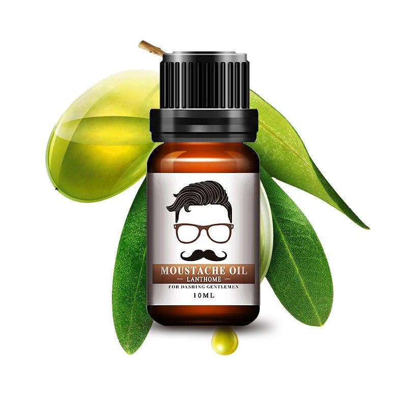 10ML Beard Oil Beards Growth More Thick Essence Product Serum Alopecia Treatment Sunburst Sideburn Beard Mustache Thick Shaping