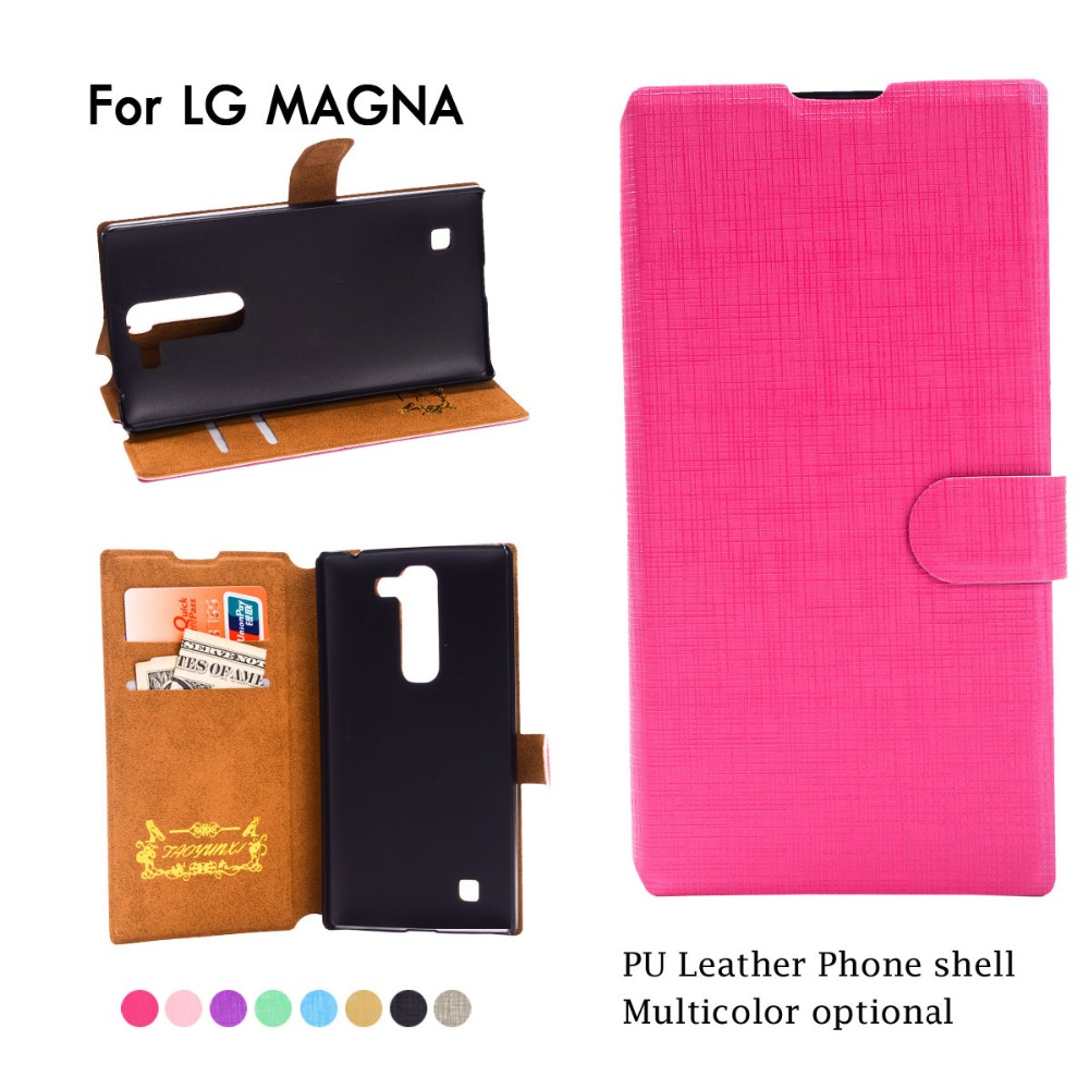 Fashion Leather Wallet <font><b>Case</b></font> For <font><b>LG</b></font> Magna <font><b>G4c</b></font> Class / Zero H740 Bello Flip Phone Cover For <font><b>LG</b></font> GOOGLE NEXUS 5 5X Card Slots Stand image