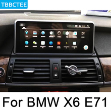 For BMW X6 E71 2011-2013 CIC Android Multimedia Player GPS Touch Screen Stereo 2 Din Autoradio navigation original style WIFI все цены