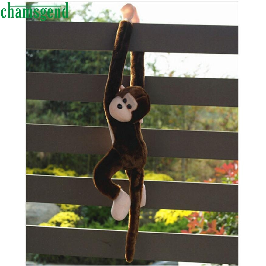 Cute Long Arm Tail Monkey Plush Toy Doll Gibbons Kids Gift Coffee  Hanging Doll A8252 cute insect doll toy