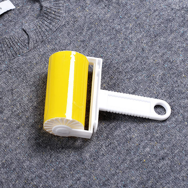 Reusable Wool Dust Catcher Cleaning Sticky Hair Roller Washable Carpet Dust Drum Lint Cloth Hair Remover Brushes E2S