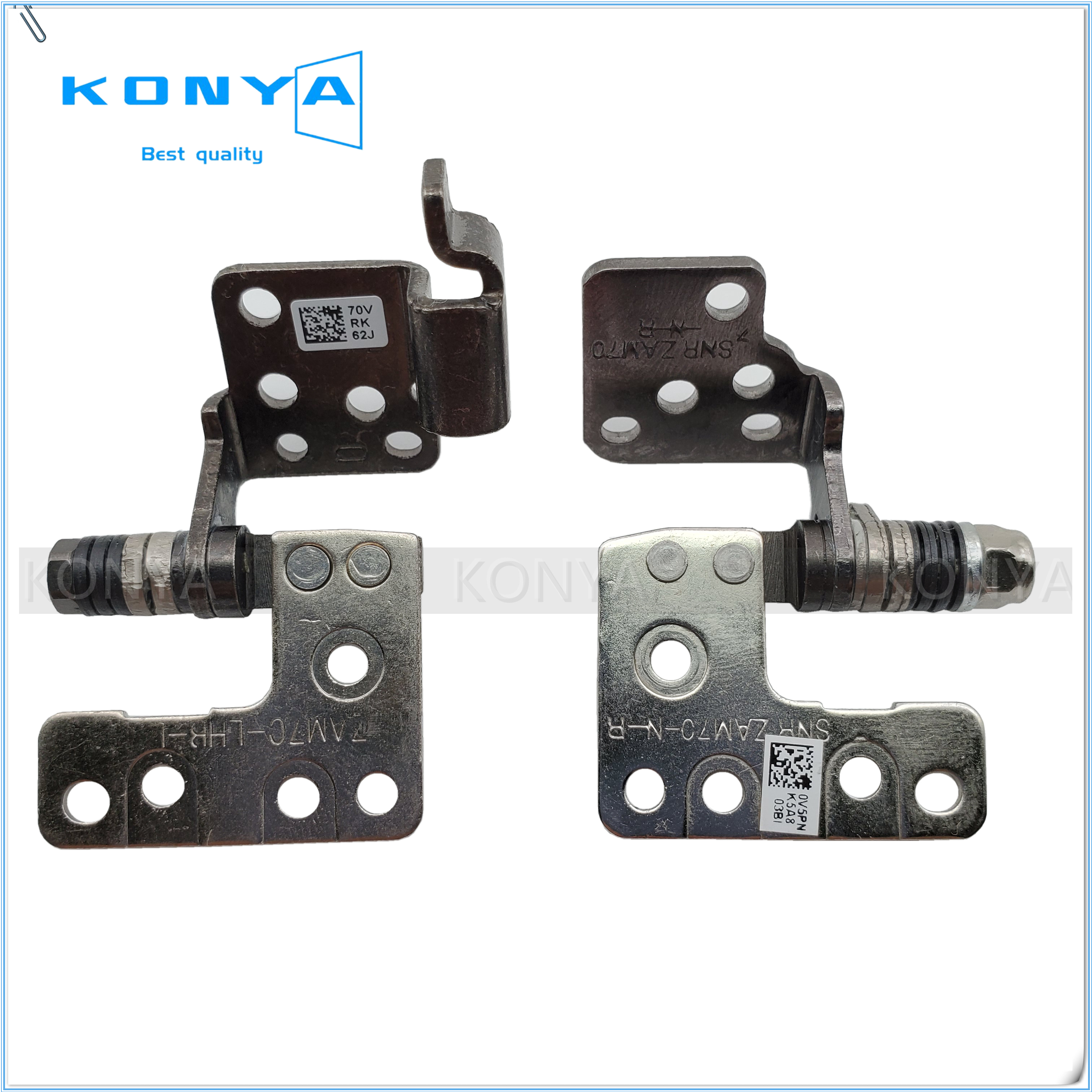New//Orig Lenovo ThinkPad T550 W550S Hinges Kit for Non-touch 00JT445 00JT446 L//R