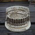 Precious Resin Crafts Series of World Architecture Ancient Rome Arena Colosseum Model Home Office Decoration