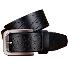 Stylish Pin Buckle Leather Belt