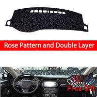 Rose Pattern For Peugeot 408 2014 2015 2016 2017 2018 2019 Cover Car Stickers Car Decoration Car Accessories Interior Car Decals