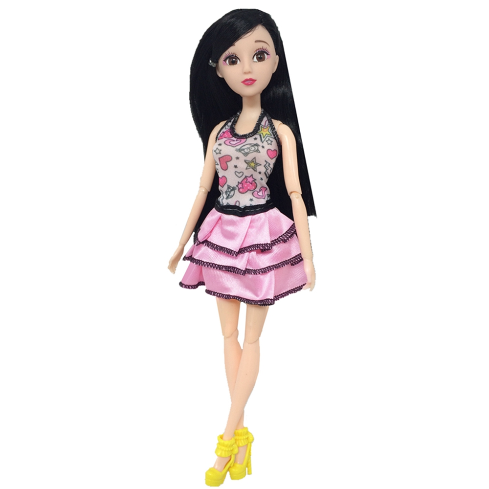 Handmade New Baby Doll Clothes Fashion Princess Girl Doll Dress Evening Party Ball Gown Dress for 29cm 11inch Barbies Doll Suits (1)