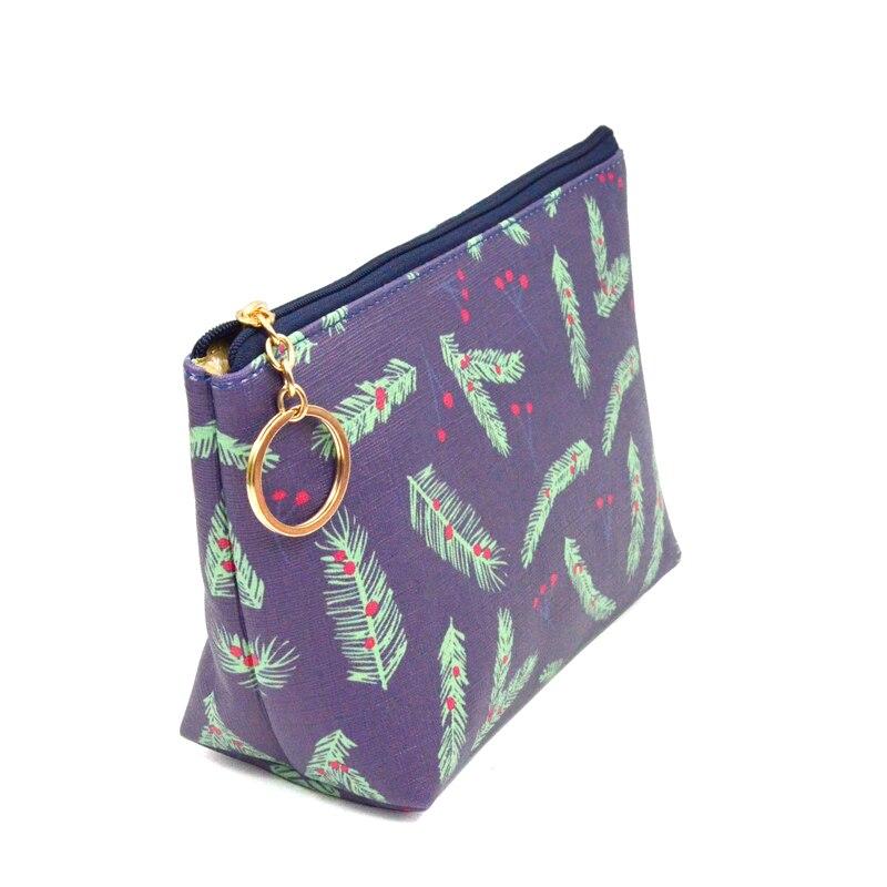 BONAMIE 2017 Cartoon Printed Girl Female Women Lady Cosmetic Bag Handbag Printing Cell Phone Bag Lady Daily Purses Clutch Bag