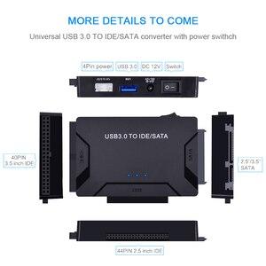 Image 2 - Адаптер CHIPAL USB 3,0 на SATA IDE 3 в 1, адаптер PATA USB3.0, преобразователь данных для ПК, ноутбука, жестких дисков 2,5 дюйма 3,5 дюйма, HDD SSD